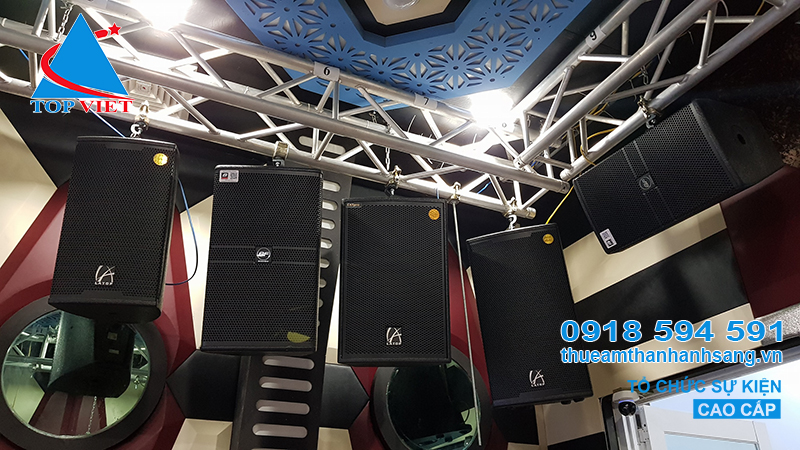 Âm thanh ánh sáng phòng Karaoke VIP