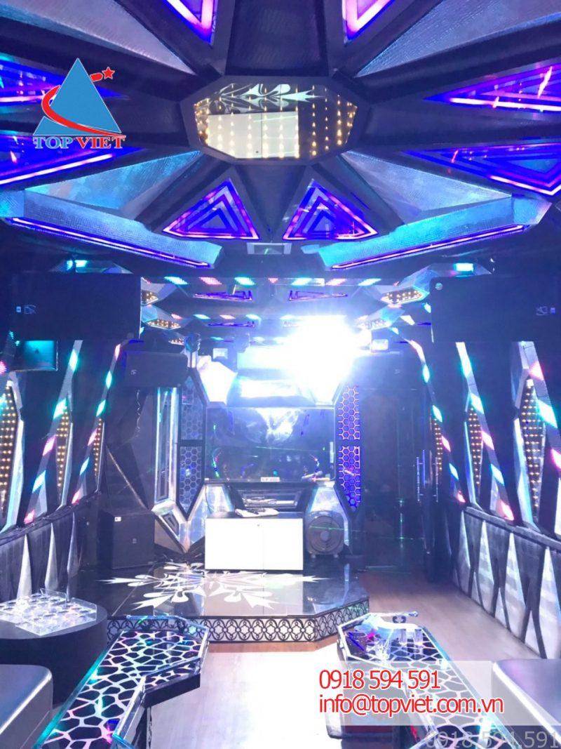 Thi công âm thanh phòng karaoke VIP