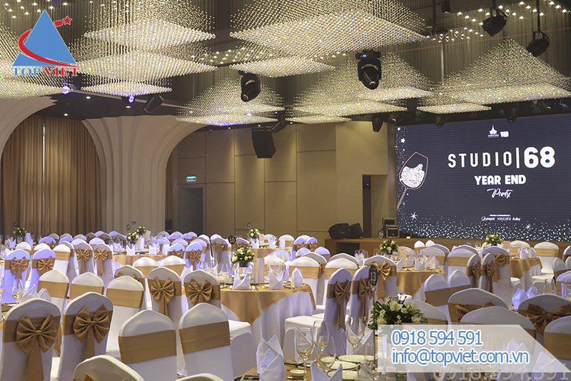 Thi công âm thanh tiệc cưới