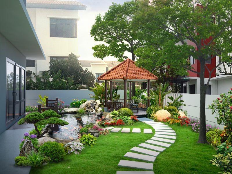Lắp đặt loa sân vườn cho resort