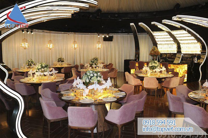 Trang trí nhà hàng tiệc cưới