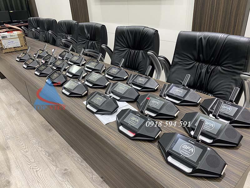 Lắp đặt âm thanh phòng họp hội nghị